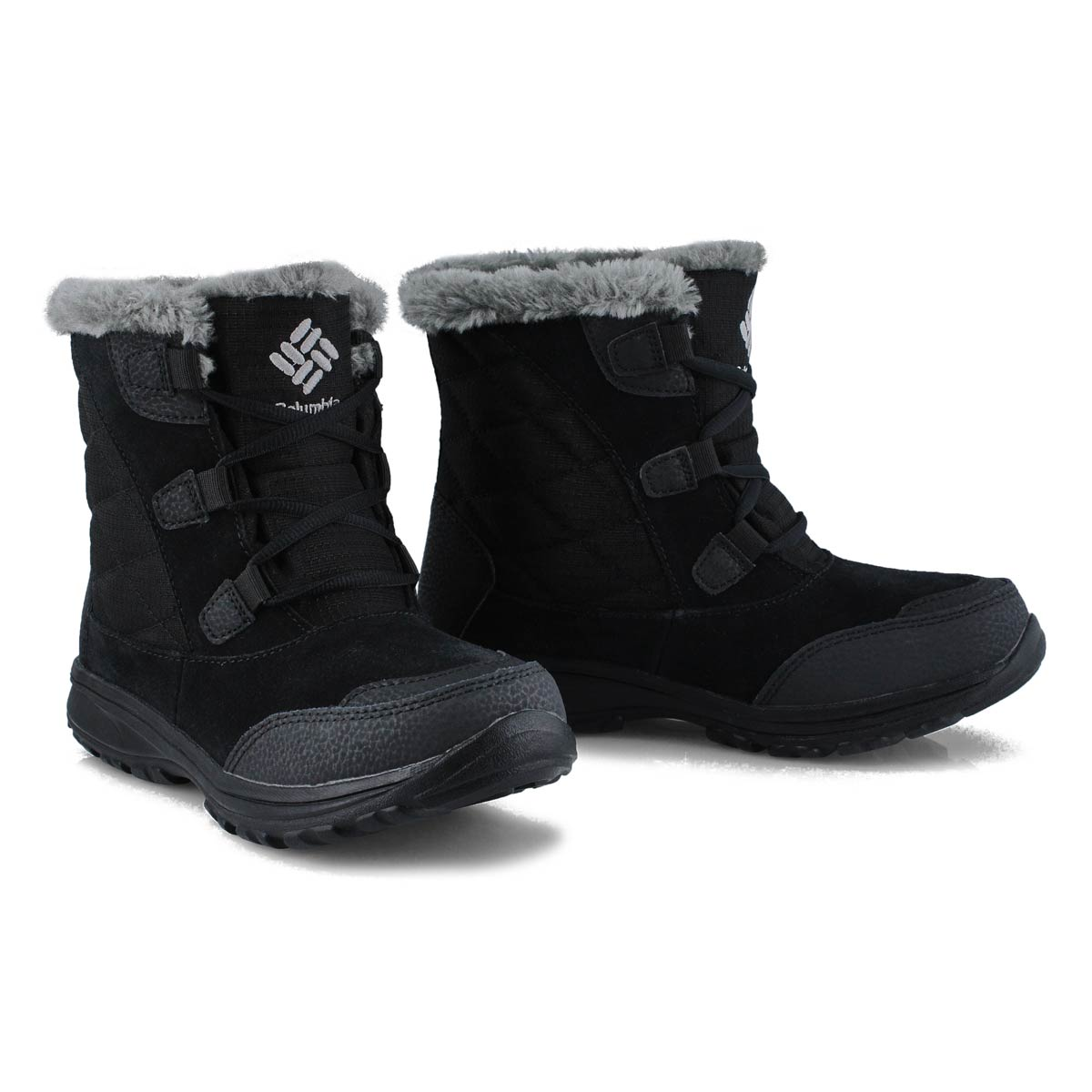 Lds Ice Maiden Shorty blk winter boot