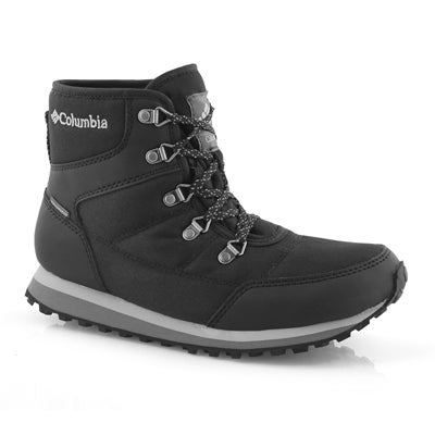 Lds Wheatleigh Shorty blk wp winter boot