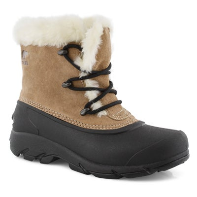 Lds Snow Angle DTV brn wtpf winter boot