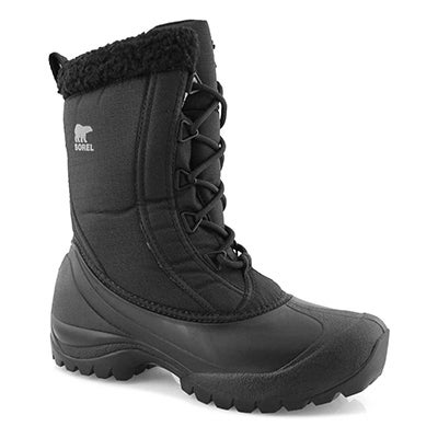 Lds Cumberland DTV blk wtpf winter boot
