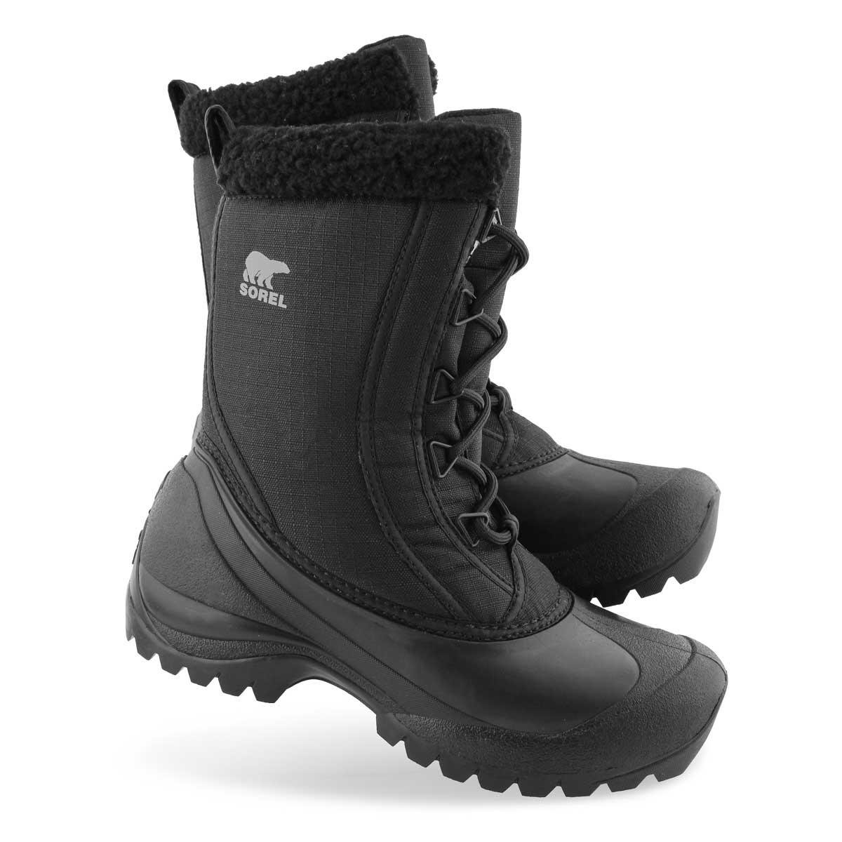 Lds Cumberland DTV blk wtpf winter boot