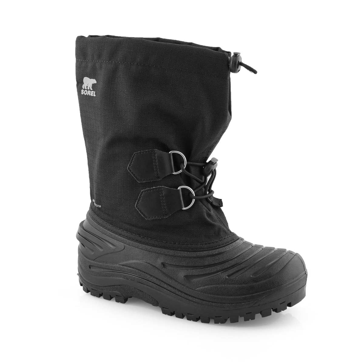 Kids' SUPER TROOPER  black/grey snow boots