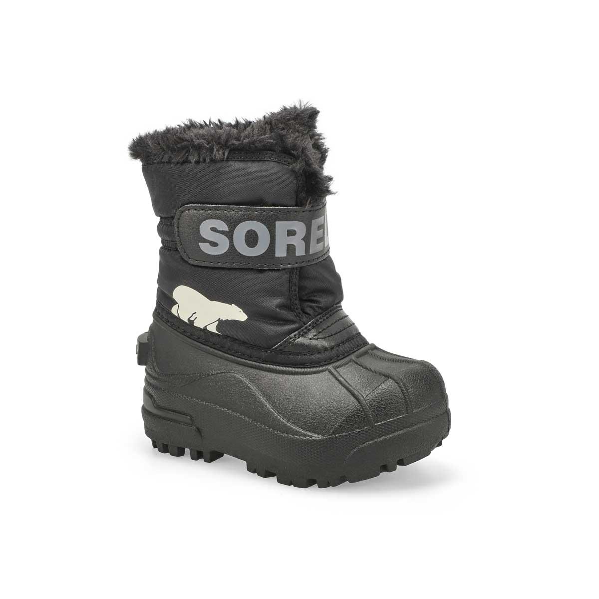 Infs Snow Commander blk/char boot