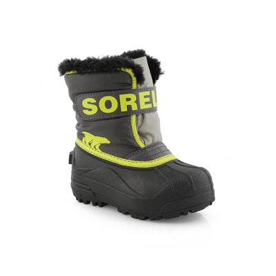 Infs Snow Commander gry/ylw boot