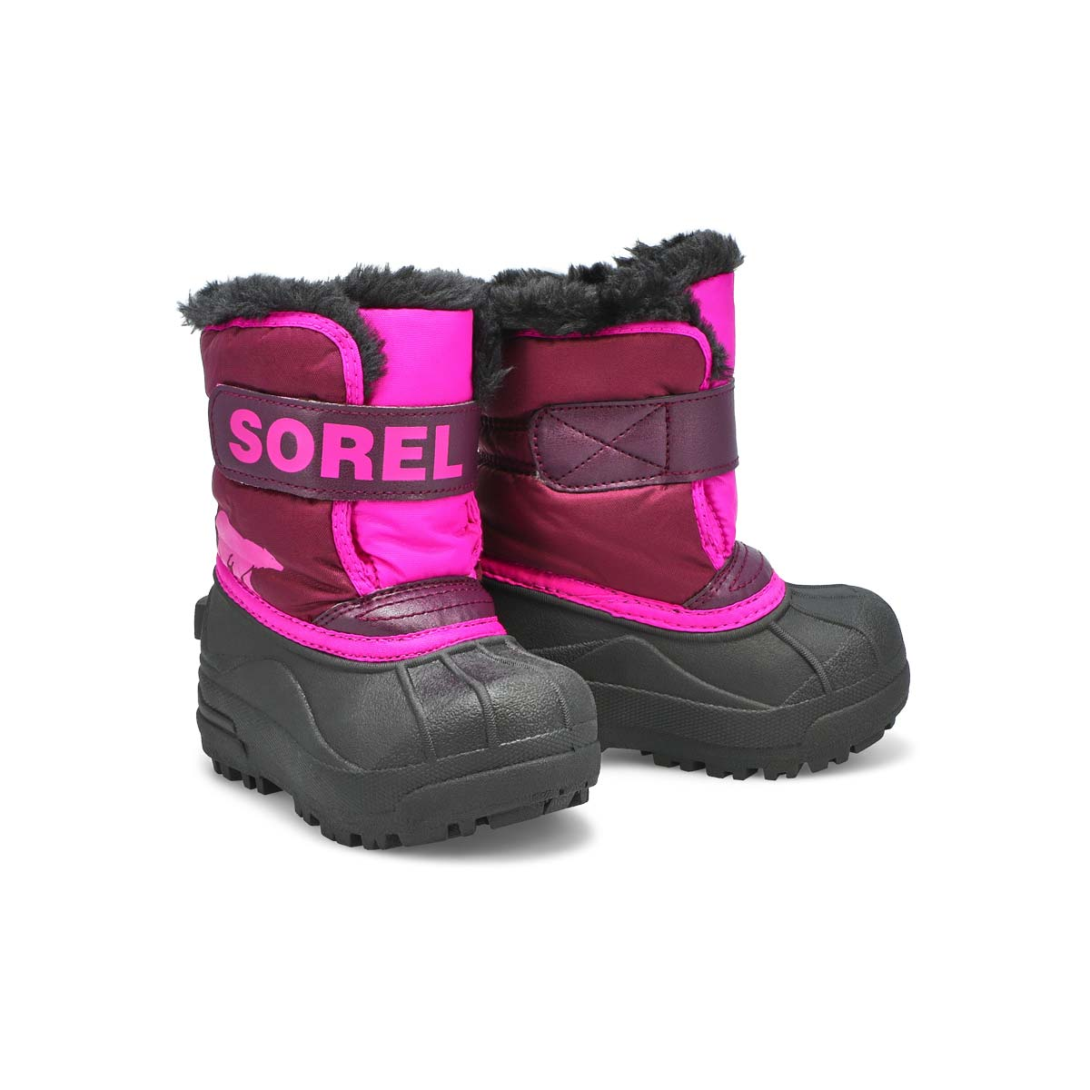 Infs-g Snow Commander pur/pnk boot