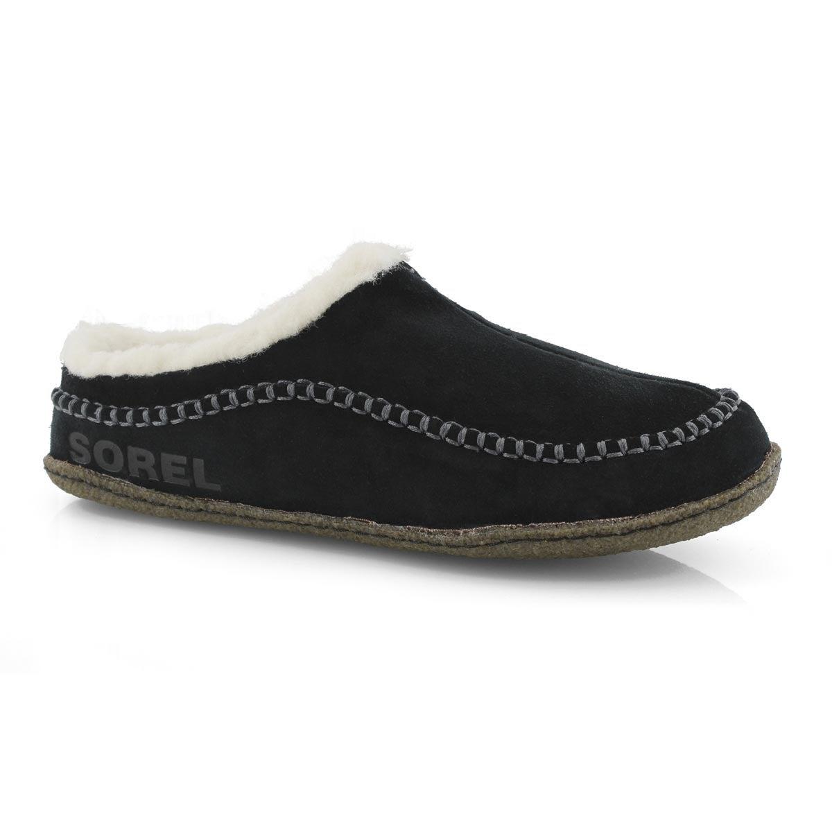 Mns Falcon Ridge II blk/dk stone slipper