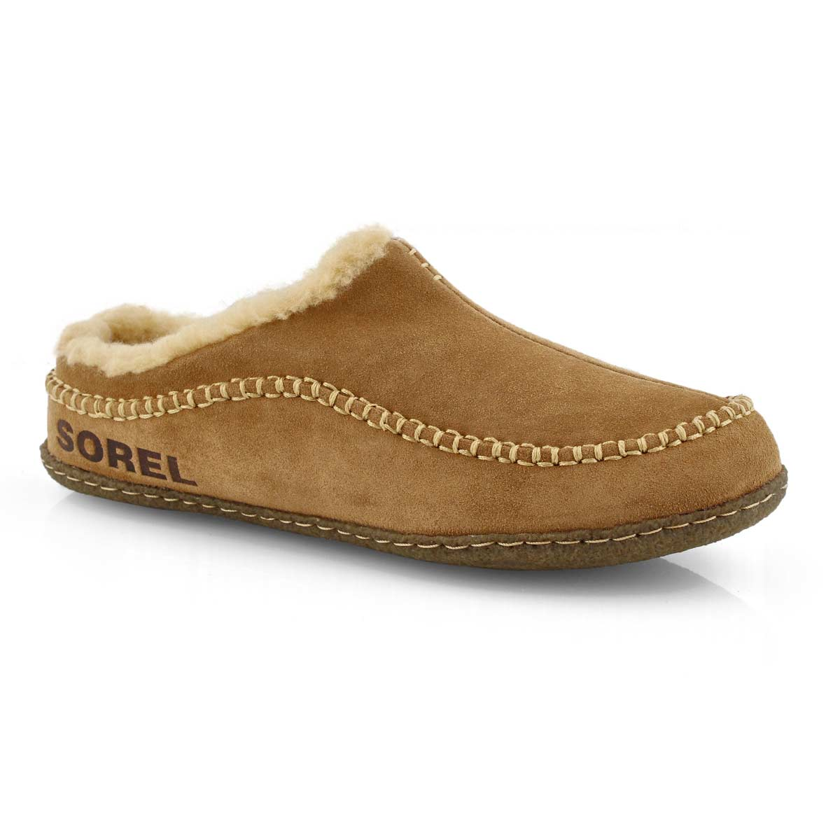 Mns Falcon Ridge II cml brn/crry slipper