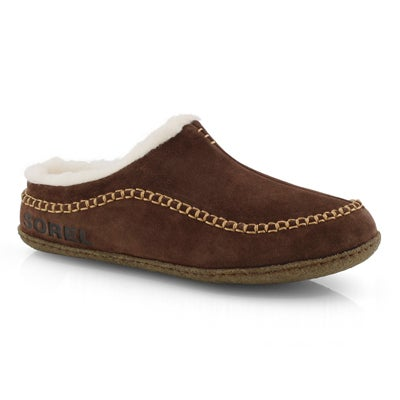 Mns Falcon Ridge II tobacco slipper