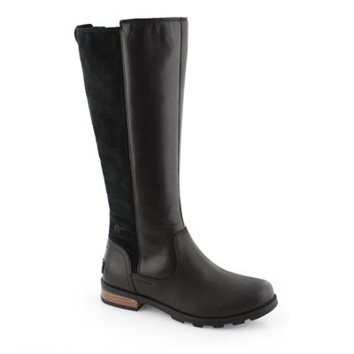 Lds Emelie Tall black wtpf boot