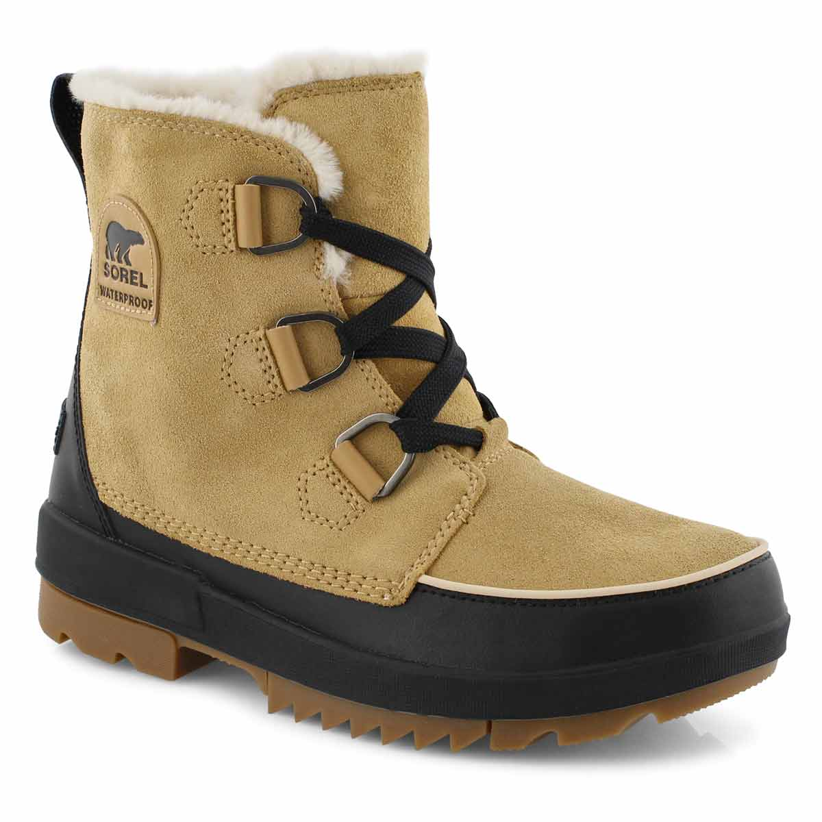 Women's TIVOLI IV curry/ black waterproof boots