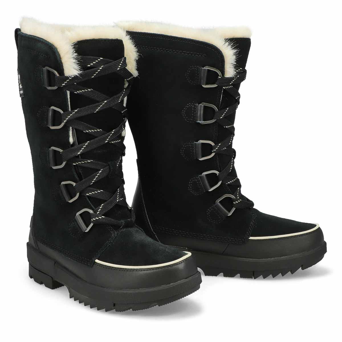 Lds Tivoli IV Tall black wtpf boot