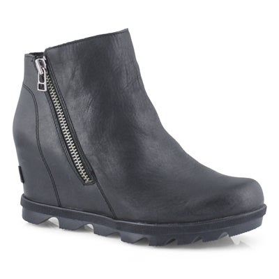 Lds JOA Wedge II Zip black wtpf boot