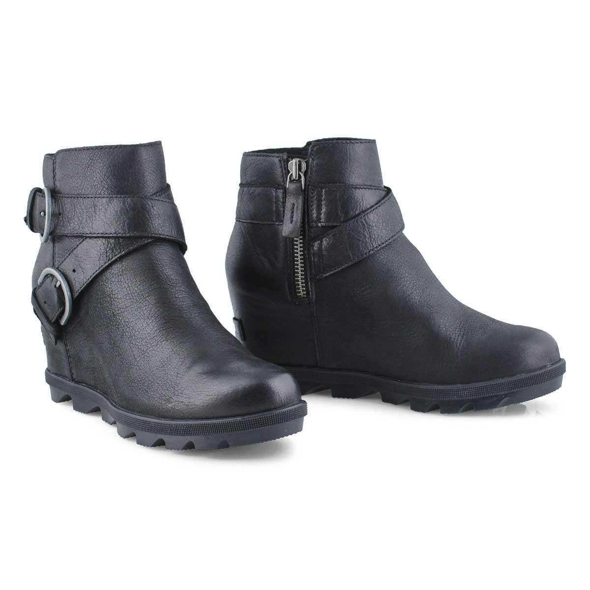 Lds JOA Wedge II Buckle black wtpf boot
