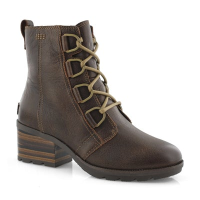 Lds Cate Lace burro casual ankle boot