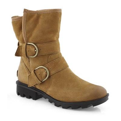 Lds Phoenix Moto Cozy camel wtpf boot