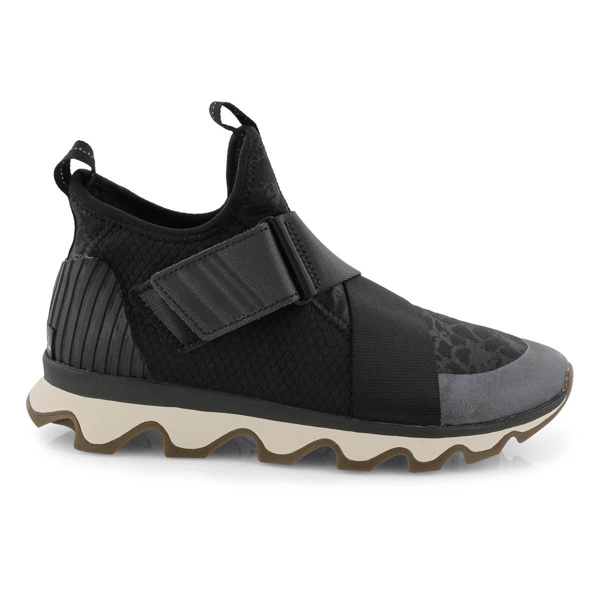 Lds Kinetic Sneak black fashion sneaker