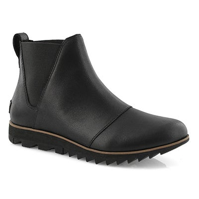 Lds Harlow Chelsea black wtpf boot