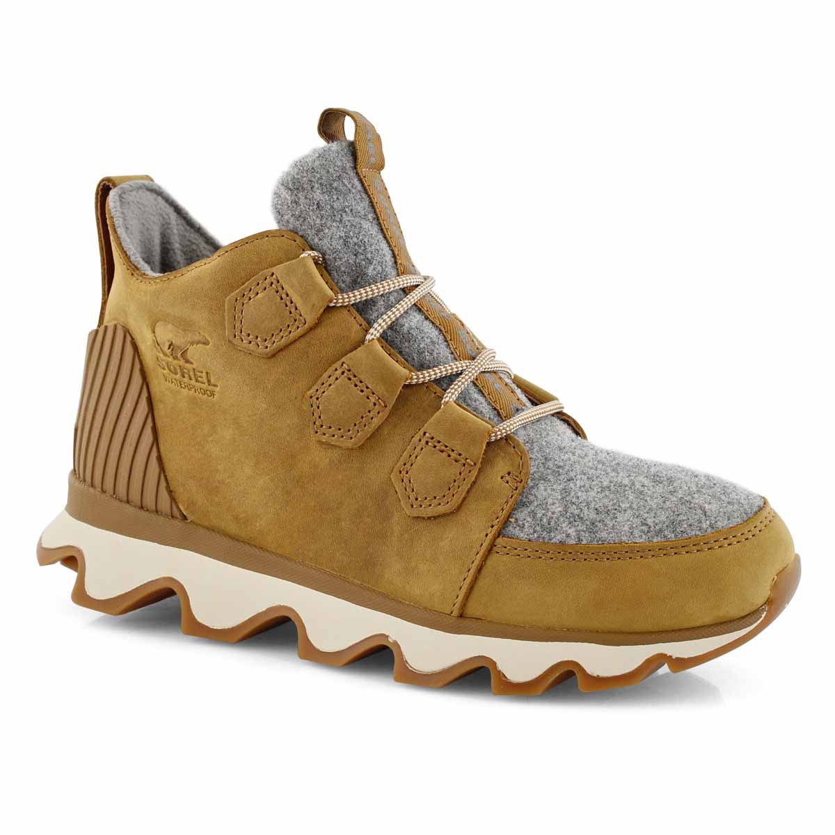 Lds Kinetic Caribou camel wtp ankle boot