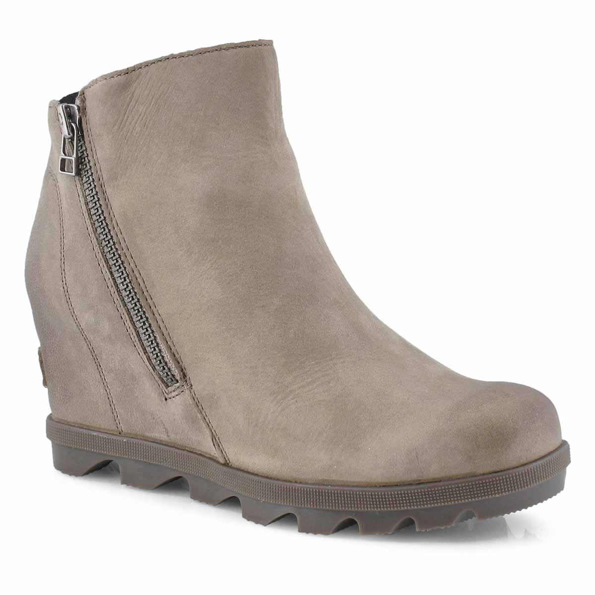 Lds JOA Wedge II Zip ash brown wtpf boot