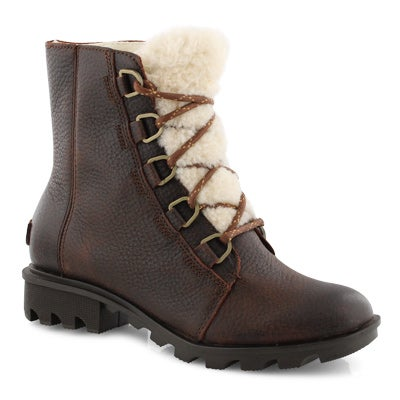 Lds PhoenixShortLaceCozy burro wtpf boot