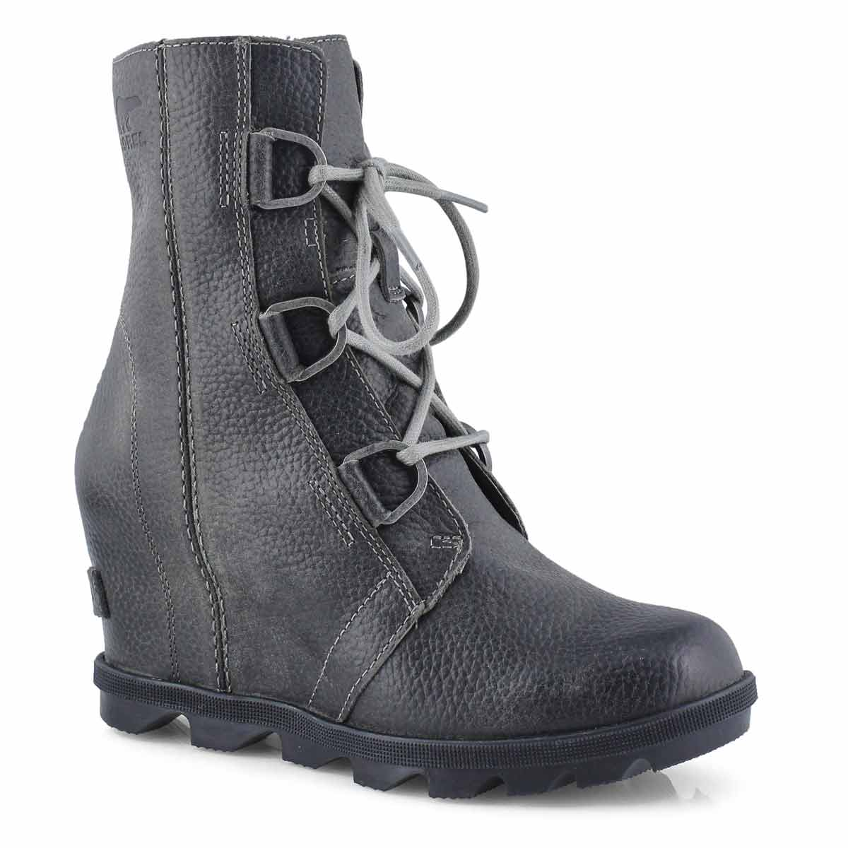 Lds JoanOfArcticWedgeII quarry wtpf boot