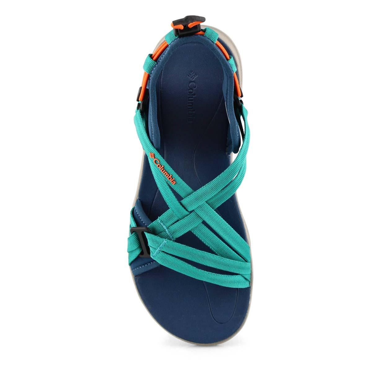 Lds Columbia Sandal blue sport sandal