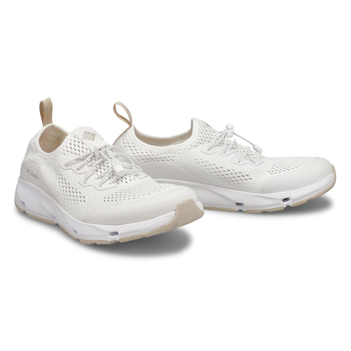 Lds Columbia Vent white fashion sneaker