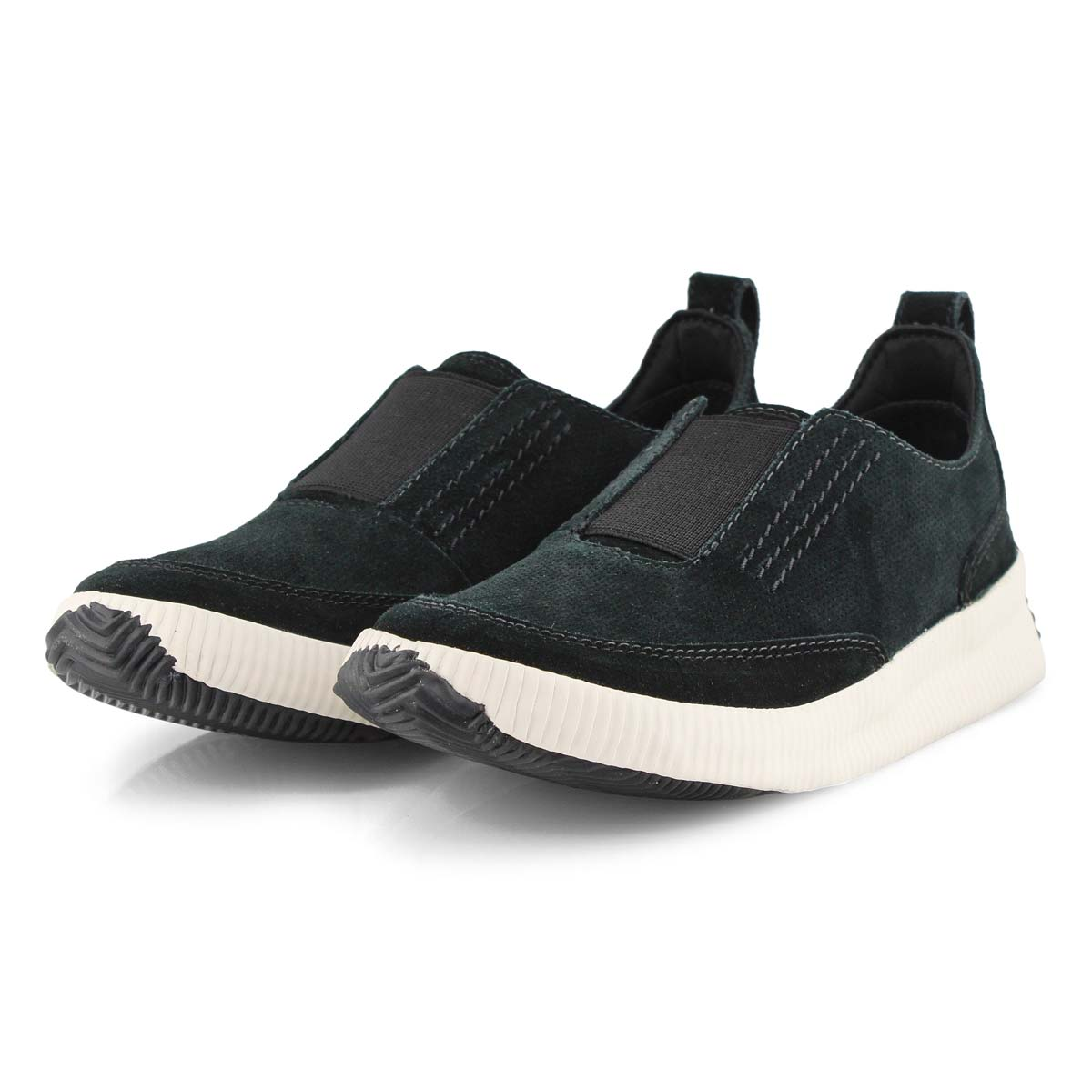 Lds Out N About Plus Slip blk sneaker