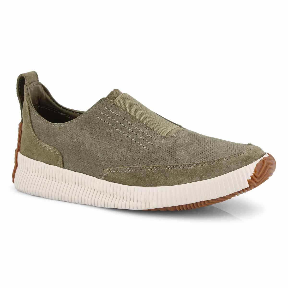 Lds Out N About Plus Slip sage sneaker