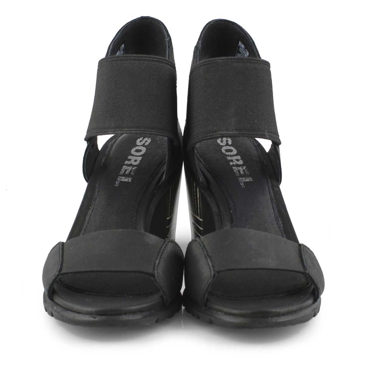 Lds Nadia black dress sandal