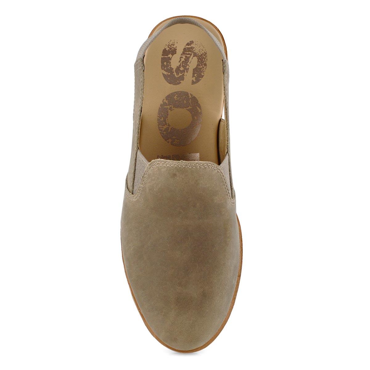 Lds Ella Slingback ash brn casual shoe