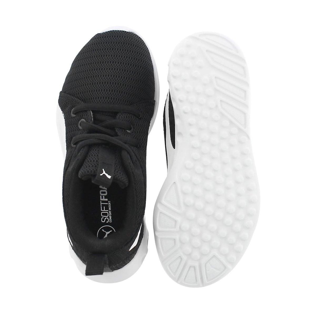 Bys Carson 2 Jr black lace up sneaker