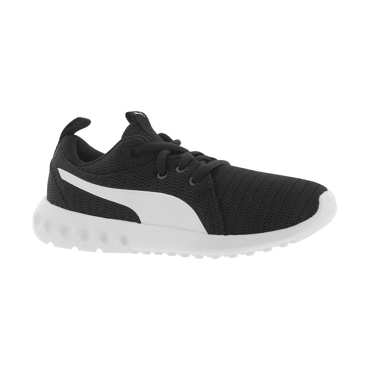 Boys' CARSON 2 JR black lace up sneakers