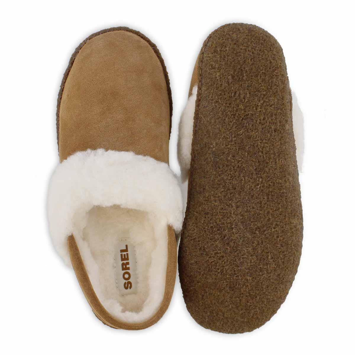 Lds Nakiska II camel  brown slipper