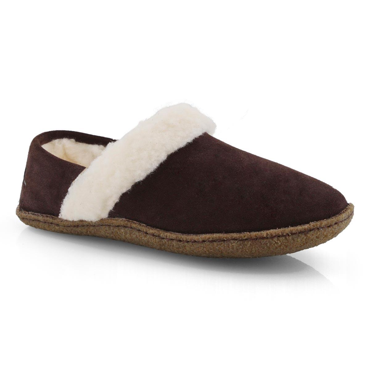 Lds Nakiska II brown slipper