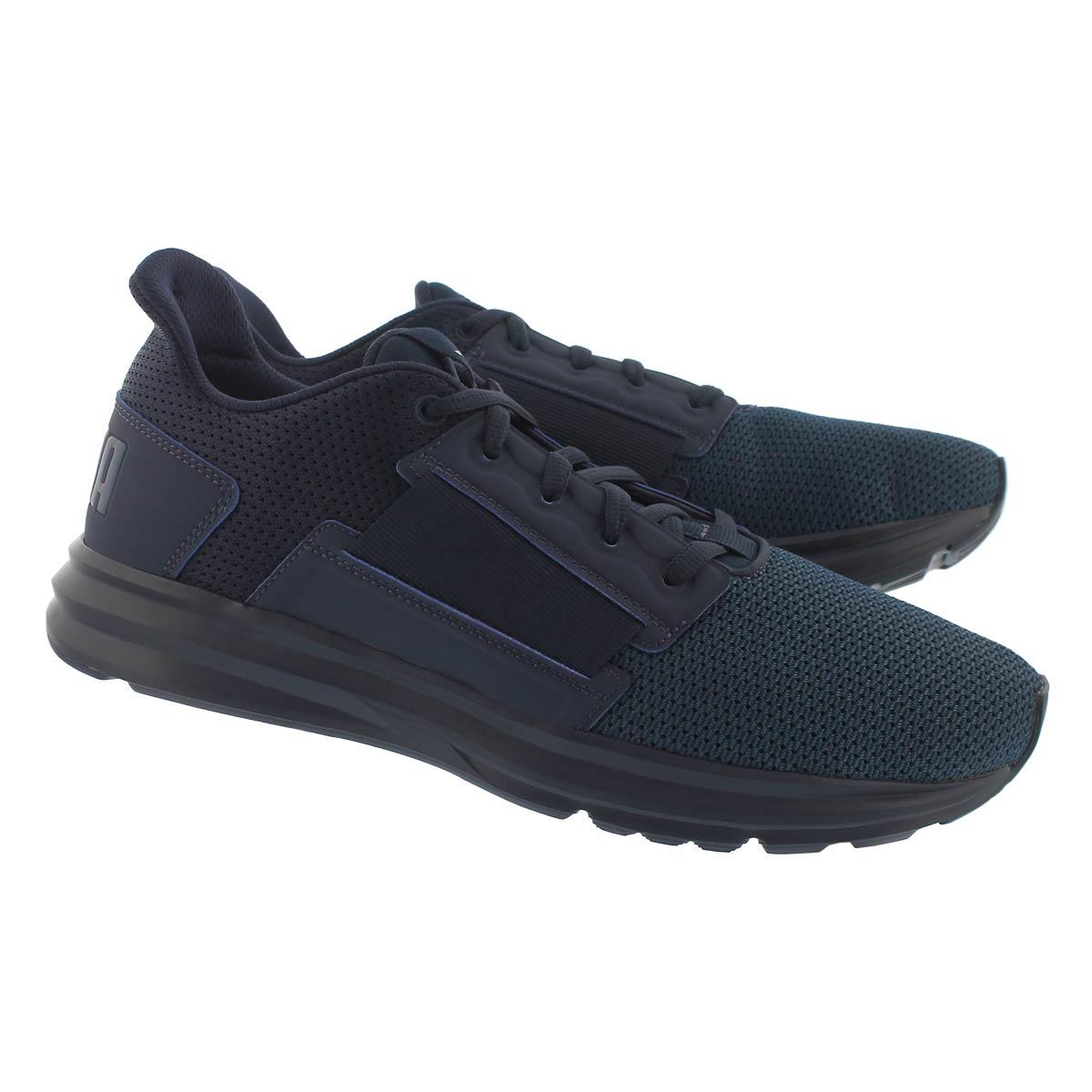 Mns Enzo Street peacoat blu sneaker