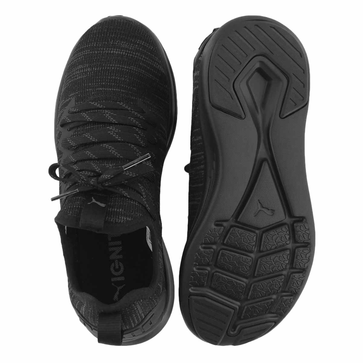 Lds Ignite Flash black slip on sneaker