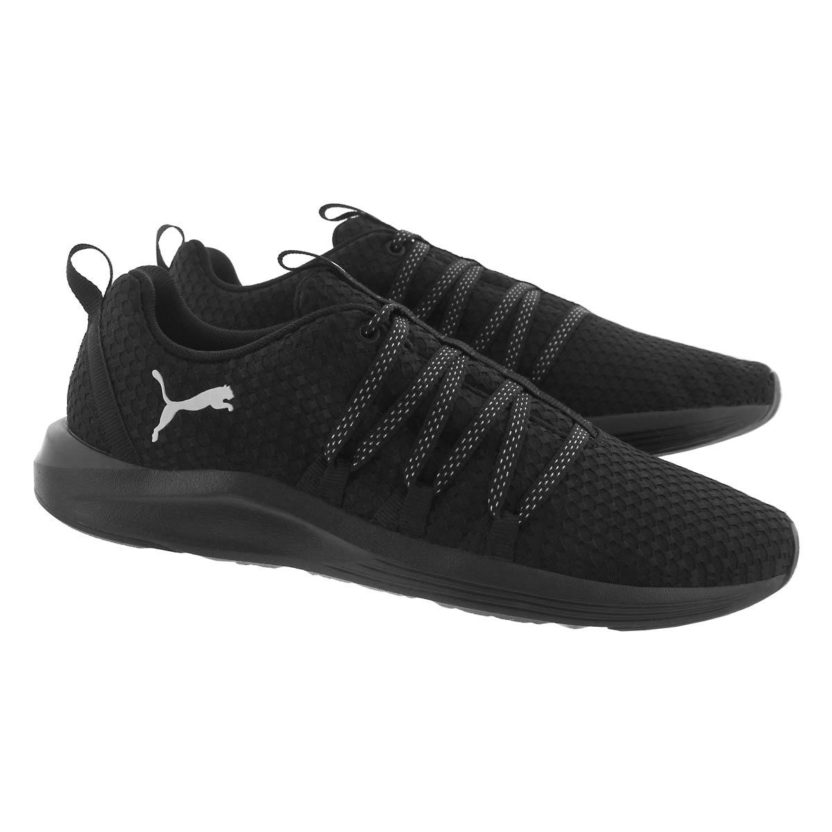 Lds Prowl Alt Weave blk slip on sneaker