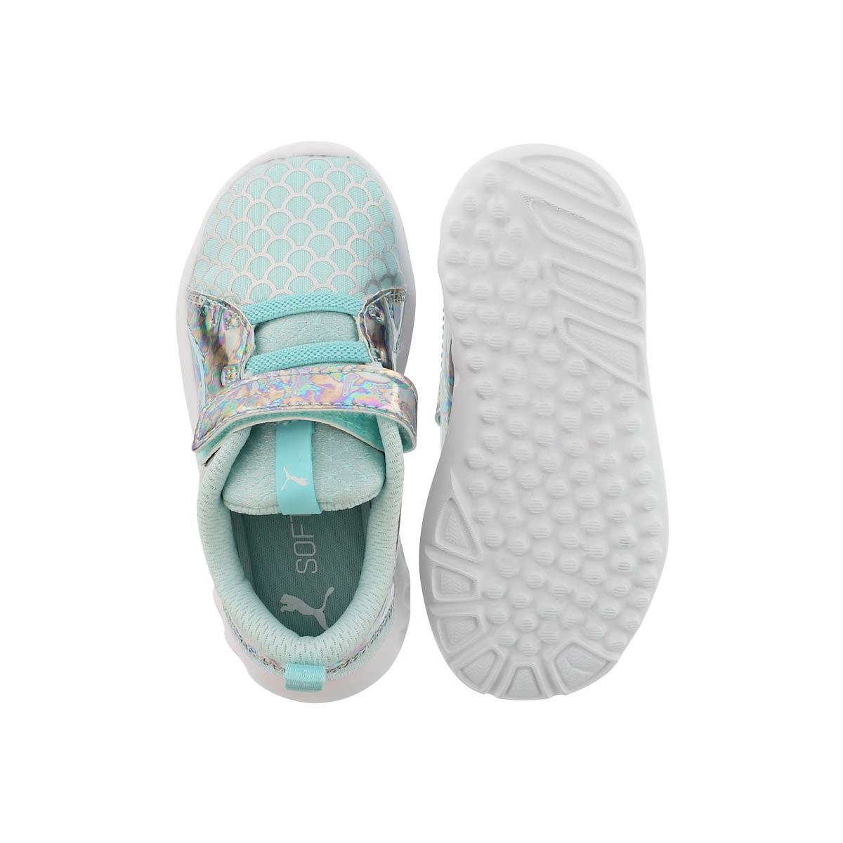 Inf-g Carson 2 Mermaid blu/slvr sneaker