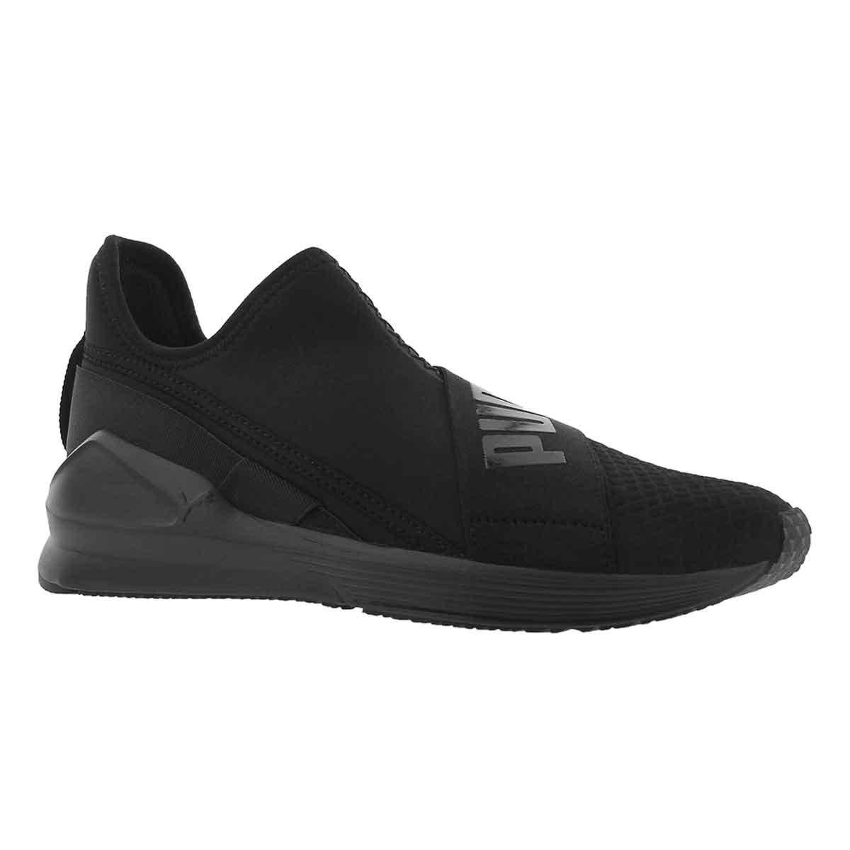 Women's FIERCE SLIP ON black sneakers
