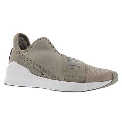 Lds Fierce Slip On rock grey sneaker