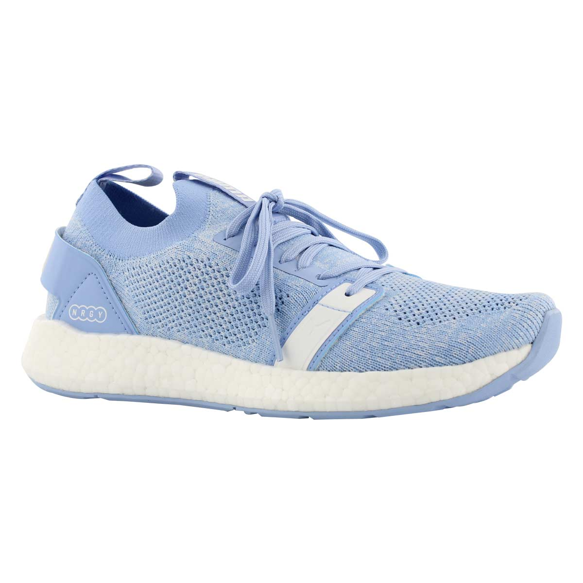 Lds NRGY Neko crln/wht slip on sneaker