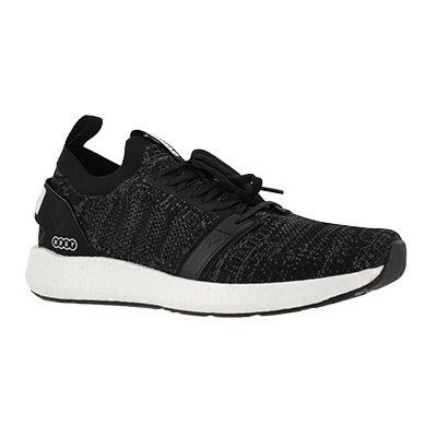 Mns NRGY Neko blk/iron slip on sneaker