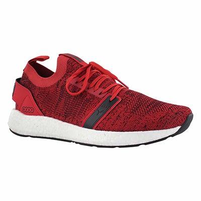 Mns NRGY Neko red/wht slip on sneaker