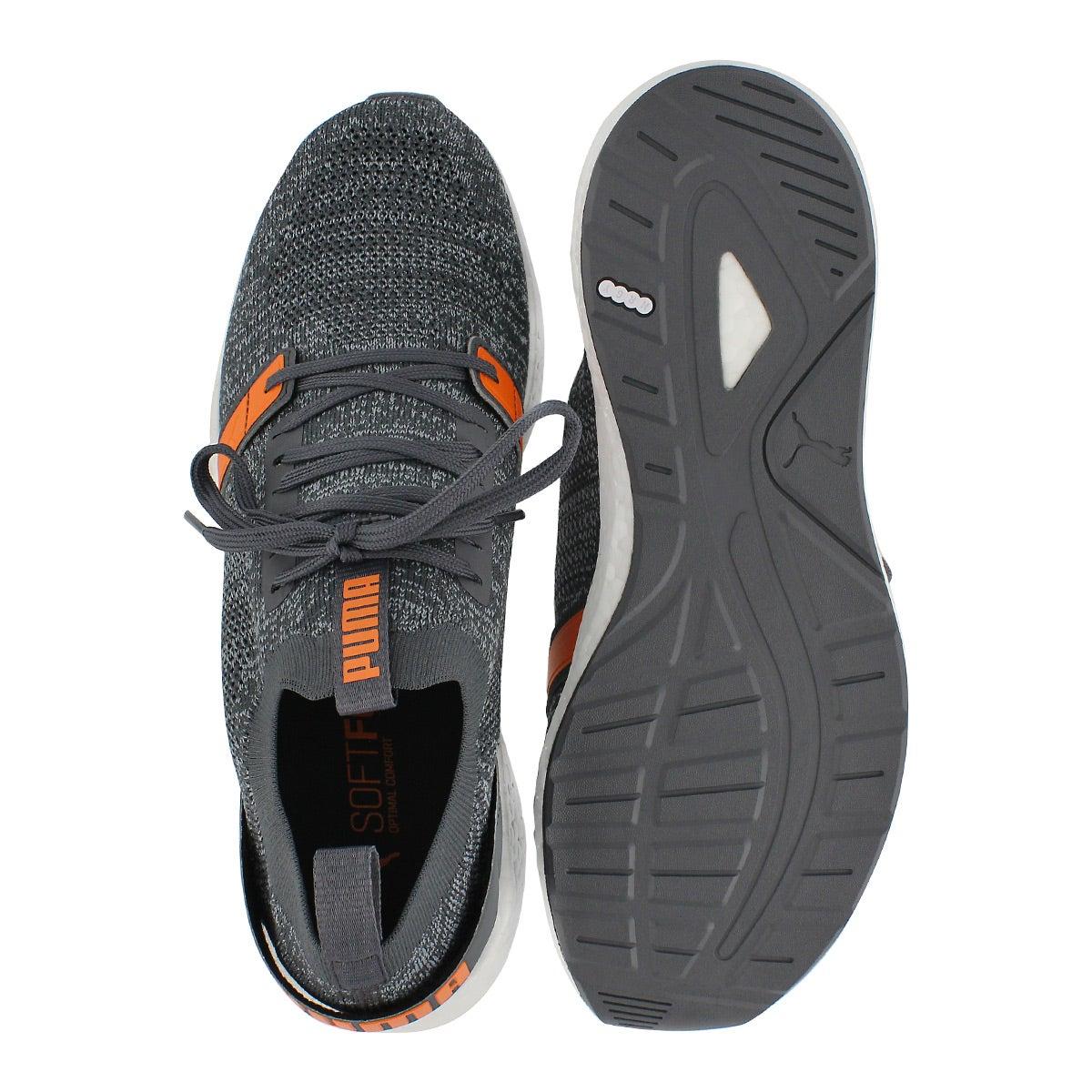 Mns NRGY Neko iron/fire slip on sneaker
