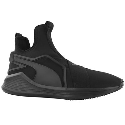 Lds Fierce Sleek blk/blk slip on sneaker