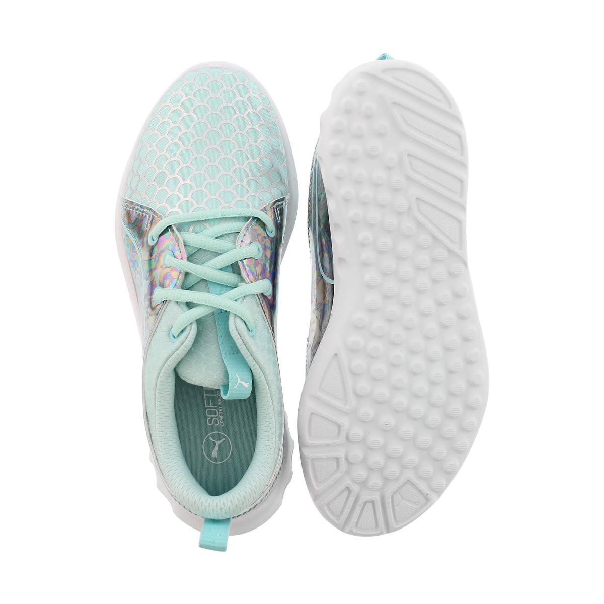 Grls Carson 2 Mermaid blu/slvr sneaker