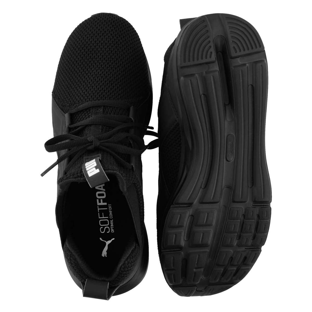 Mns Enzo Weave blk/wht sneaker