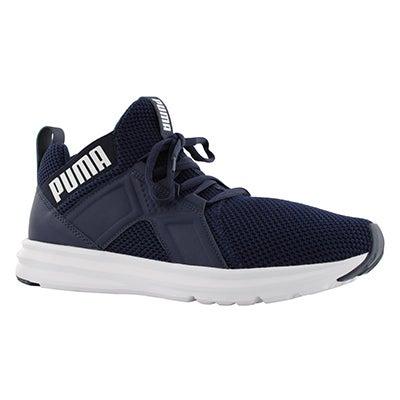 Mns Enzo Weave peacoat/wht sneaker