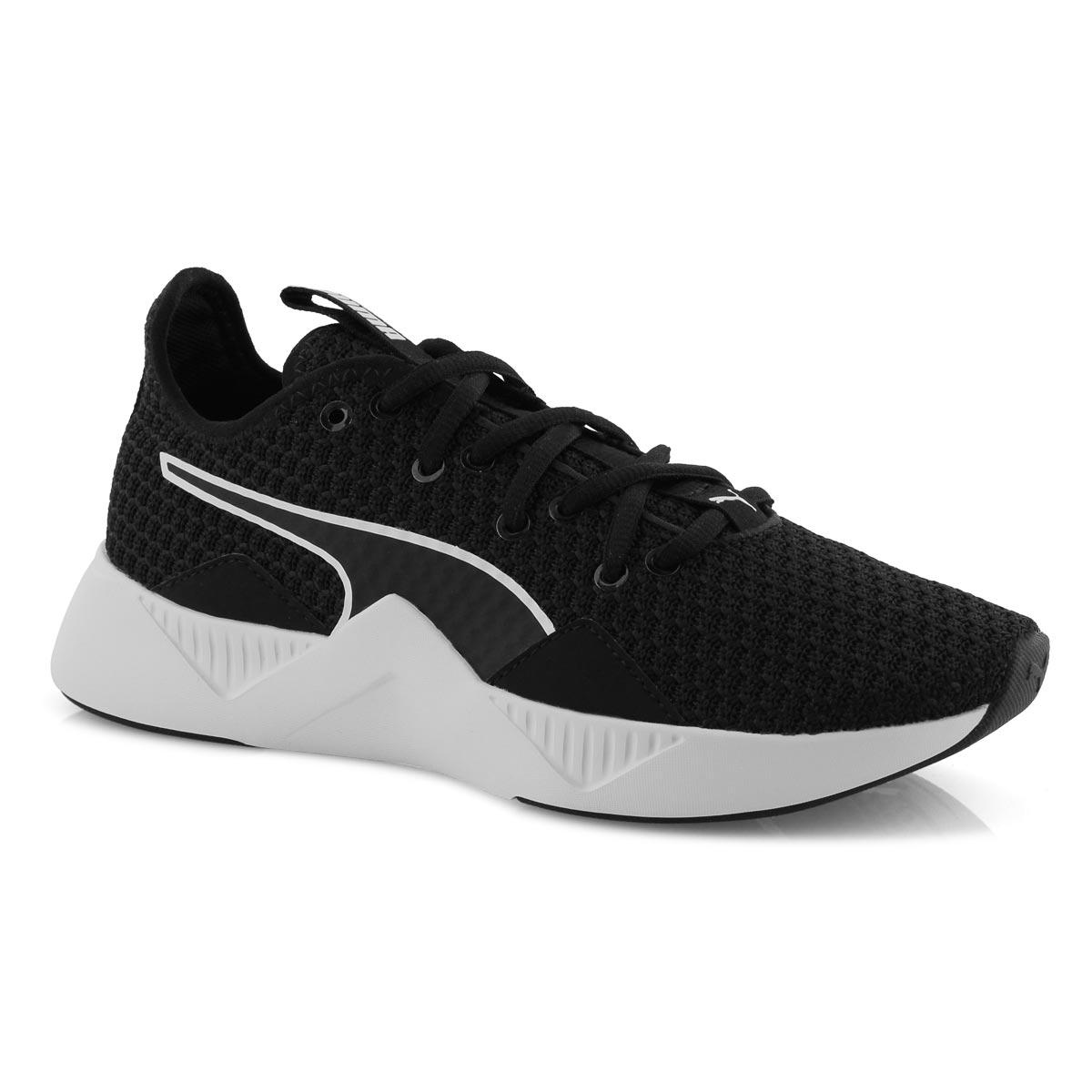 Lds Incite FS blk/wht lace up sneaker